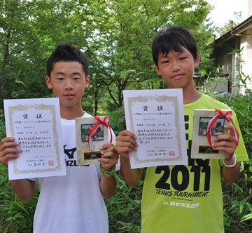 全日本ジュニアテニス選手権出場
