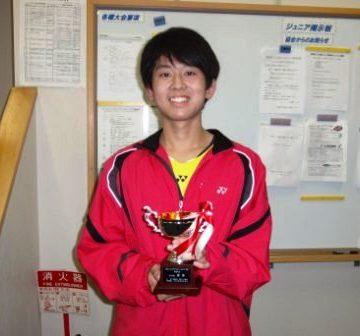 トヨタジュニアテニス新潟県予選