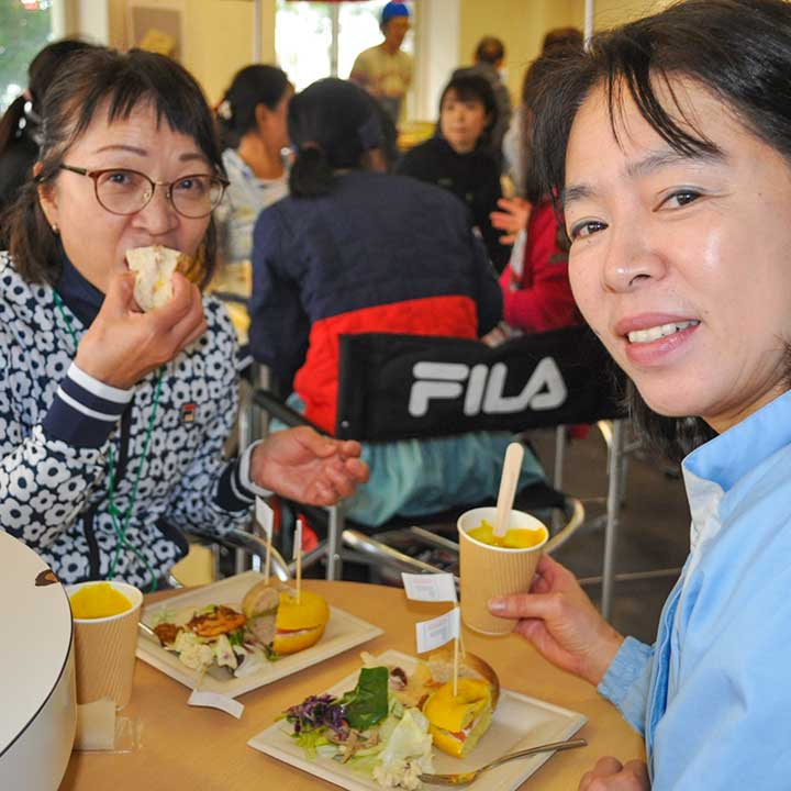 FILA CUP 2019 in NIIGATA ランチ&デザートコーナー